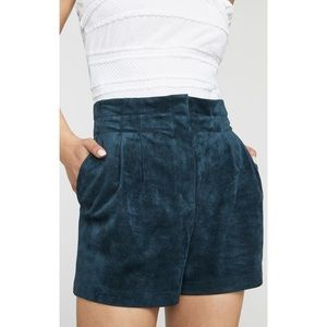 BCBGMaxAzria Symon Suede Shorts